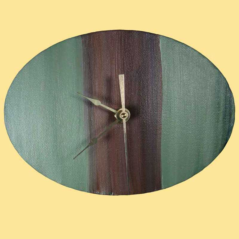 Artistic Handcrafted Wall Clocks Vertical And Center