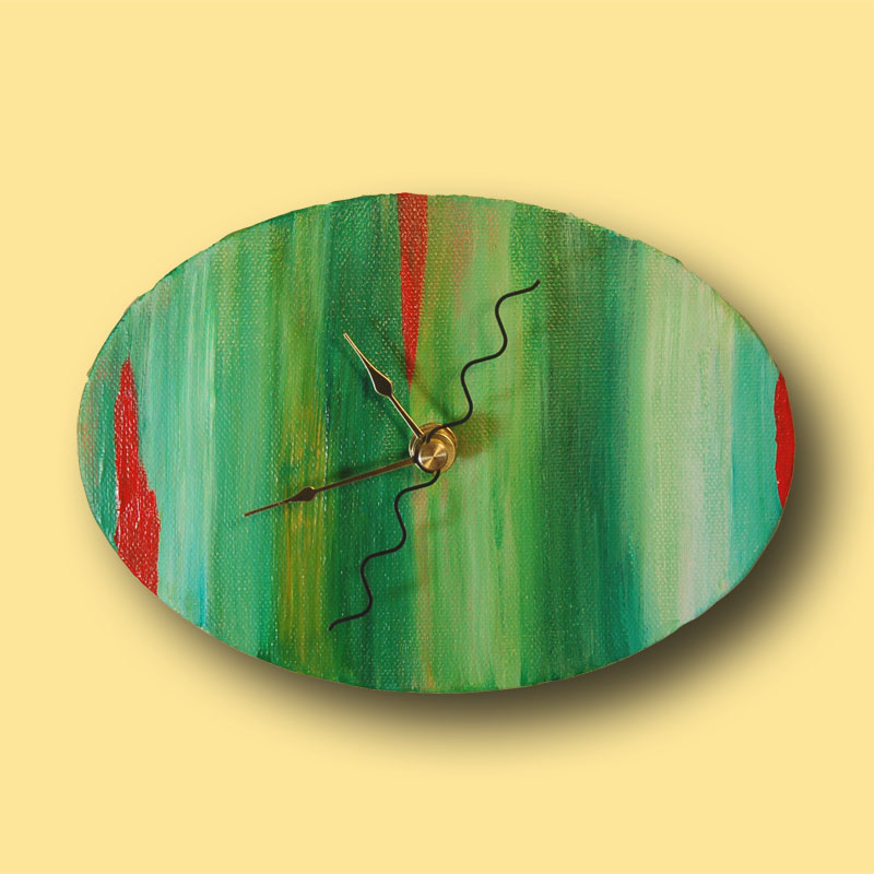 Artistic handcrafted wall clocks - Accents